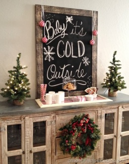 christmas festive room decor inspiration, tumblr, pinterest, artsy photo, blogmas 2015, day 3, baby it's cold outside