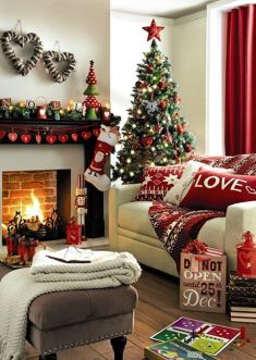 christmas festive room decor inspiration, tumblr, pinterest, artsy photo, blogmas 2015, day 3, fireplace